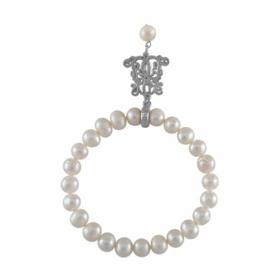 B-BP-10 7MM White Semi Round Freshwater Pearl RM72