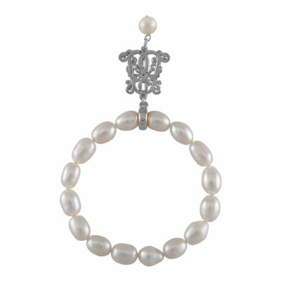 B-BP-11 10MM WHite Oval Freshwater Pearl RM81