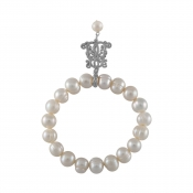 B-BP-12 10MM White Ringed Freshwater Pearl RM120