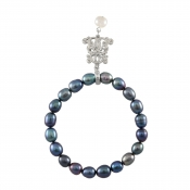 B-BP-16 8MM Blue Oval Freshwater Pearl RM60