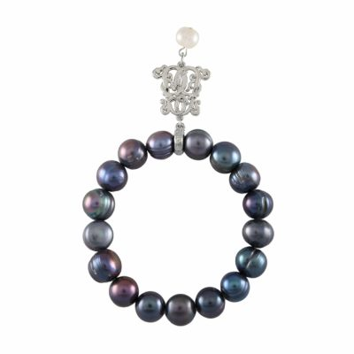 B-BP-18 10MM Blue Ringed Freshwater Pearl RM120