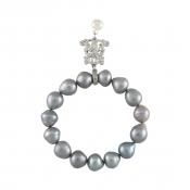 B-BP-21 12MM Grey Pear Freshwater Pearl RM180