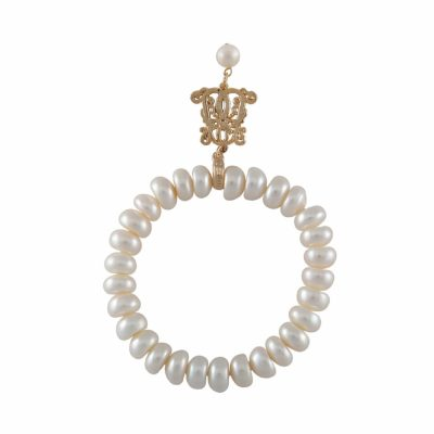 B-BP-5 5MM White Button Freshwater Pearl RM150
