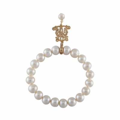 B-BP-6 8MM White Round Freshwater Pearl RM174