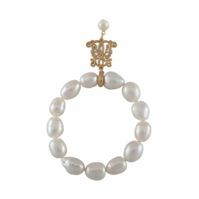 B-BP-7 13MM White Pear Freshwater Pearl RM180