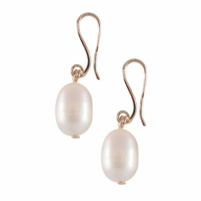 E-BP-11 19MM White Oval Freshwater Pearl RM150
