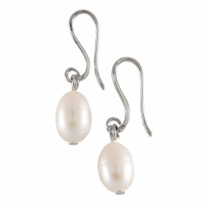 E-BP-15 10MM White Oval Freshwater Pearl RM120