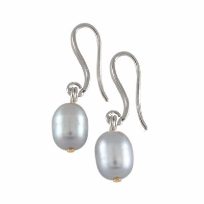 E-BP-22 11MM Grey Oval Freshwater Pearls RM120