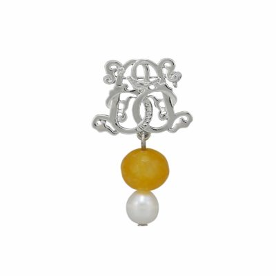BR-BW-30 YELLOW AGATE