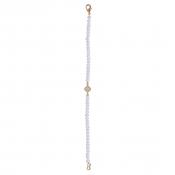 B-L-66 Lucky Petite Clove Bracelet (Gold)