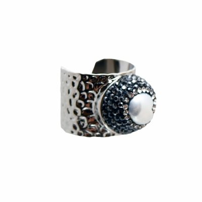 R-H-2 Ring Silver