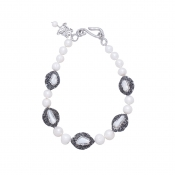 N-KR-2 KEISHI ROSE NECKLACE - PEARL_1