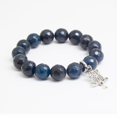 B-P12-23 FACETED NAVY