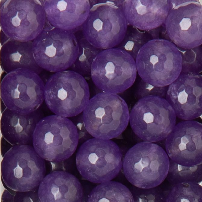 Faceted Purple